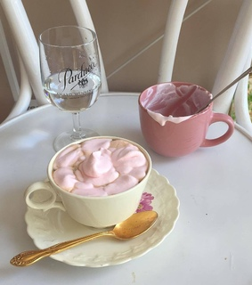 food, pink and sweet