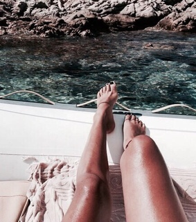legs, wanderlust and boat