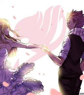 fairy tail, couple and love
