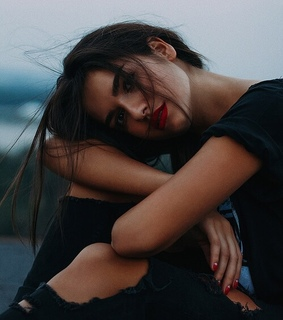 photography, emotion and red lips