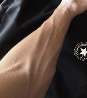 veins, Hot and male arms