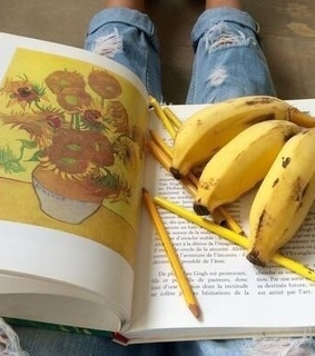 jeans, pencils and books