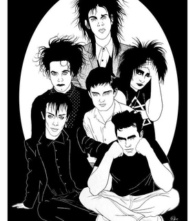 ian curtis, bauhaus and siouxsie and the banshees