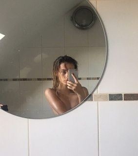 mirror, Nude and aesthetic
