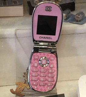 chanel, pink and 2000