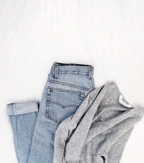 jeans, casual and grey