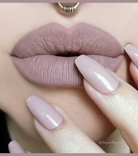 lipstick, Nude and aesthetic