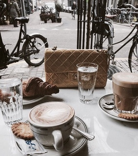 chic, breakfast and food
