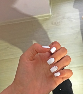 nails art, white nails and gorgeous nails