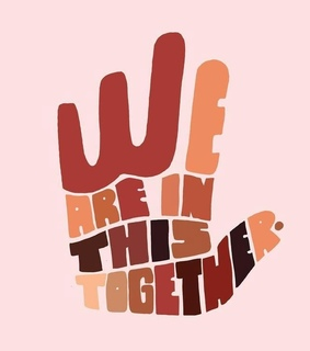 hand, we and together