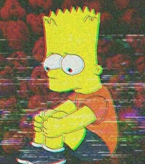 bart and wallpaper simpsons