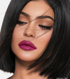 kylie cosmetics, makeup and face