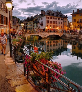 france, tourism and flower