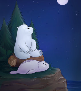wallpaper, we bare bears and ice bear