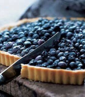 blueberry, bake and food