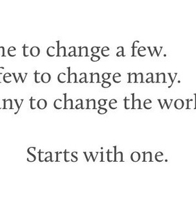 start it, changes and world