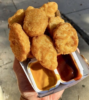 Chicken, McDonald's and chicken nuggets