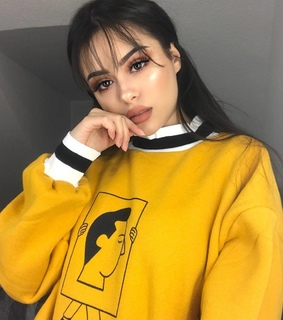 yellow, beauty and hairstyle