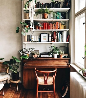 atmosphere, study and home