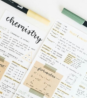 university, writing and chemistry