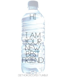 ​bestfriend, drink and water