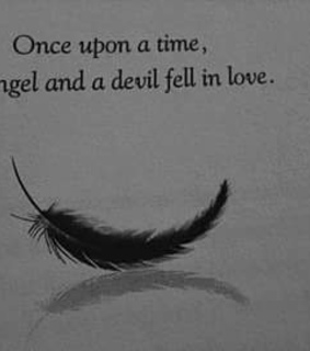 love, angel and Devil