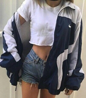 shorts, fit and jacket
