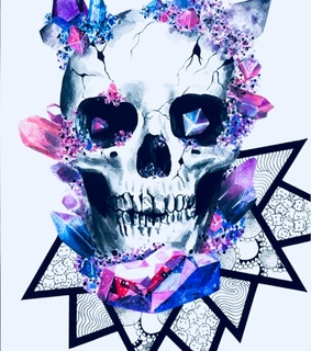 skull, cool and inspiration