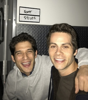 scott, dylan o'brien and stiles