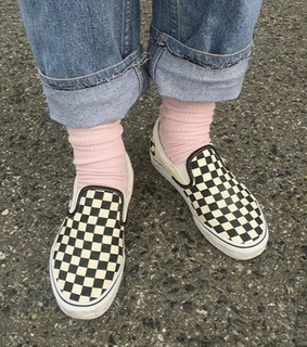 shoes, checkered and tumblr