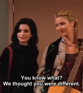 vintage, chandler bing and 90s