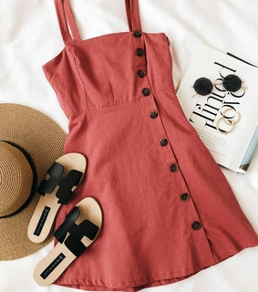 hat, dress and pink