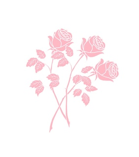 background, rose and pink roses