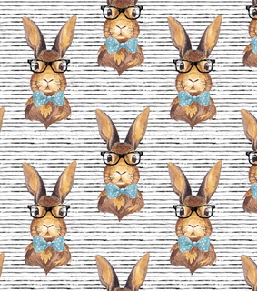 background, bunny and glasses