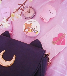 pink, aesthetic and make up