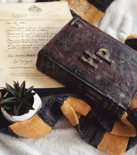Letter, hufflepuff and photography