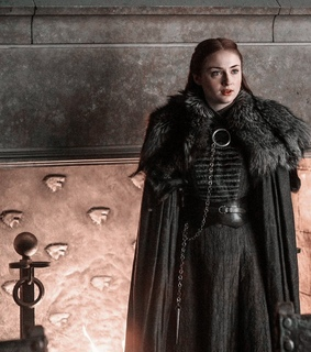 queen in the north, got and sophie turner