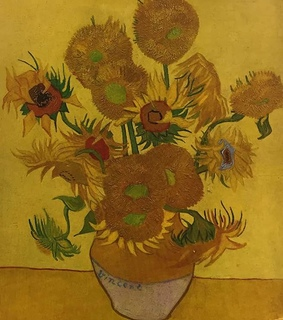 hufflepuff, vincent van gogh and sunflowers