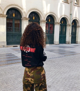 curls, palestine and peace
