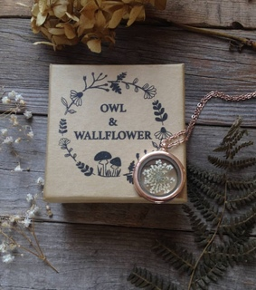 vintage, nature and necklace