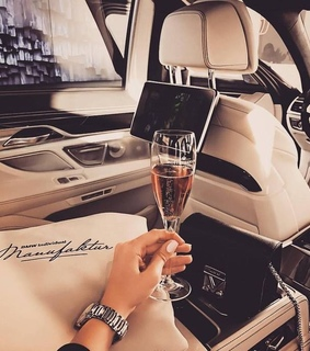 lucky, champagne and luxe