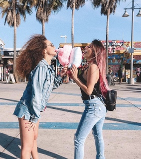 fun, pink and friendship