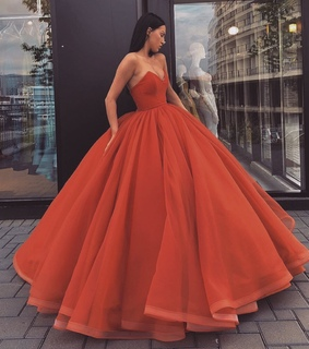 dress, gala and red
