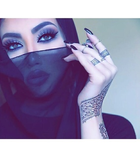 hijab style, beauty and eyes