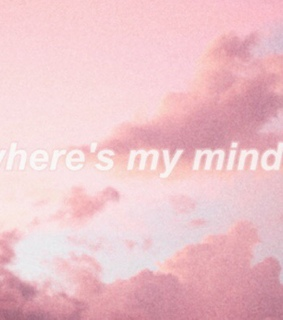 pink, grainy and quote