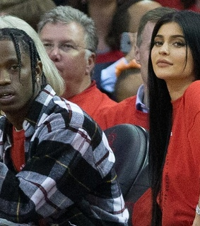 travis scott, kylie jenner and scott
