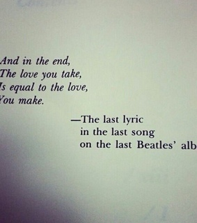 love, beatles and music