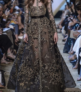 elie saab, sparkly and fashion