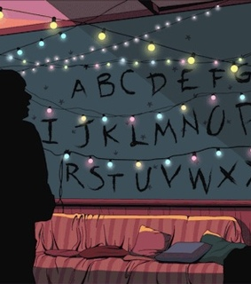 stranger things, byers and joyce byers