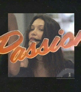 hadid, indie and passion